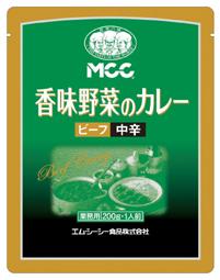 MCC香味野菜のビーフカレー中辛200g