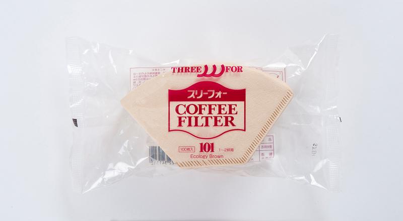 おいしい珈琲屋のフィルターEB-101(100枚入り)茶